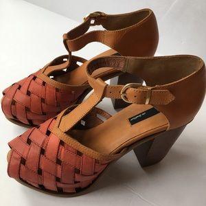 Miista Dolores Platform Heels Size 39 US 9